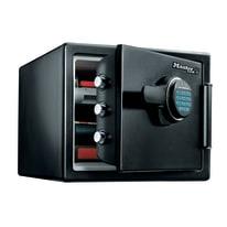 Cassaforte portavalori Master Lock LFW082FTC resistente a fuoco e acqua nero