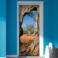 Sticker Door Cover Olive