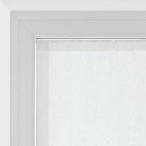 Tendina a vetro per portafinestra Vittoria bianco 60 x 240 cm