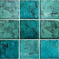 Piastrella Mistral 10 x 10 cm azzurro