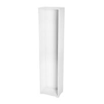 Struttura Spaceo bianco L 45 x P 30 x H 192 cm