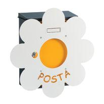 Cover per cassetta Mia Margherita, L 40,6 x H 40,6 x P  0,1 cm