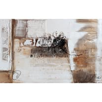 dipinto su tela Astratto beige 90x140