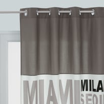 Tenda In the city grigio 140 x 270 cm