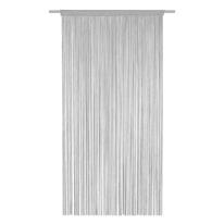 Tenda porta Spaghetti grigio 140 x 270 cm