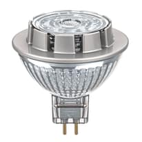 Lampadina LED Osram GU5.3 =50W luce calda 36°