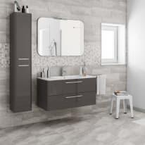 Mobile bagno Best grigio antracite L 101 cm