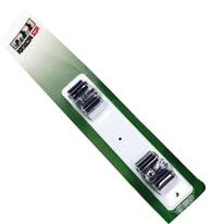 Gancio da parete con vite Appendiscopa L 25 x H 48 mm