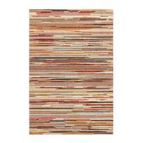 Tappeto Soave stripe panna, multicolore 133 x 190 cm