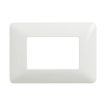 Placca 3 moduli BTicino Matix bianco