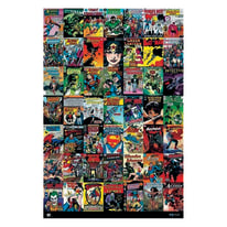 Poster Dc comic copertine 61 x 91,5 cm