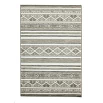 Tappeto Soraya grigio scuro 60 x 120 cm