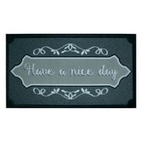 Zerbino Nice day grigio 40 x 70 cm