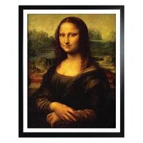 Stampa incorniciata Gioconda 40 x 50 cm
