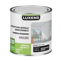 Idropittura superlavabile bianca Luxens 0,75 L