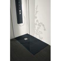 Piatto doccia resina Liso 100 x 100 cm antracite