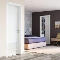 Porta da interno battente Bright 80 x H 210 cm reversibile