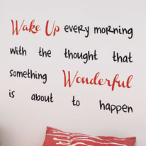 Words Up XL Wake up