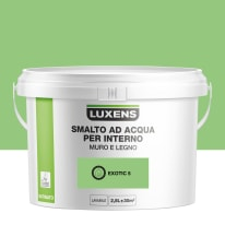 Smalto Luxens all'acqua Verde Esotico 5 satinato 2.5 L