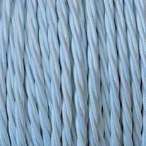 Cavo treccia tessile Merlotti 2,5 mm bianco, matassa 50 m