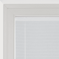 Tendina a vetro regolabile per finestra Klimt bianco 90 x 160 cm