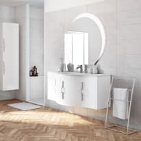 Mobile bagno Sting bianco L 138 cm