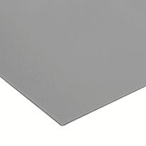Lastra polipropilene grigio 1000 x 500  mm, spessore 1 mm