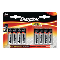 Pila alcalina stilo AA Energizer MAX