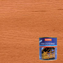Vernice per esterno ad acqua Syntilor ciliegio satinato 1 L