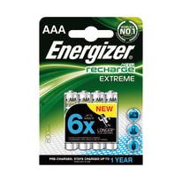 Pila ricaricabile al nichel metal idrato ministilo AAA Energizer Recharge
