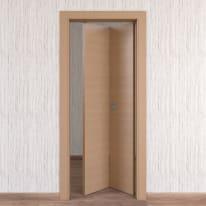 Porta da interno pieghevole Sheraton rovere naturale 70 x H 210 cm dx