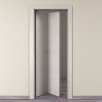Porta da interno pieghevole Hunk luna 80 x H 210 cm sx