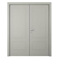 Porta da interno battente Nakano 2 Ante RAL 7044 180 x H 210 cm sx