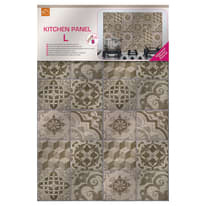 Sticker Kitchen Pannel Beige azulejos