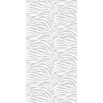 Tenda doccia Zebra bianca L 240 x H 200 cm