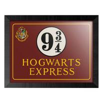 Stampa incorniciata Harry Potter Hogwarts 34,8 x 44,8 cm
