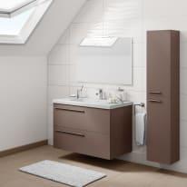 Mobile bagno Elea marrone L 91 cm