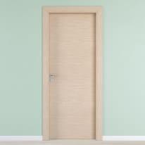 Porta per hotel battente Radisson oak rovere sbiancato 90 x H 210 cm dx