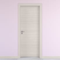 Porta da interno battente Oxford 90 x H 210 cm reversibile