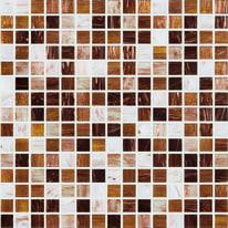 Mosaico Ambra chiara 32,7 x 32,7 cm multicolor