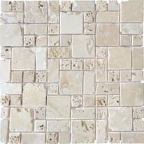Mosaico Travertino Romano 30,5 x 30,5 cm