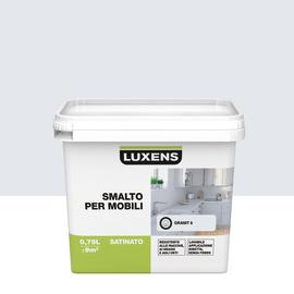 Smalto Per mobili Luxens Grigio Granito 6 satinato 0,75 L