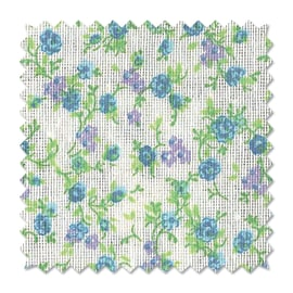 Tessuto al taglio Fiorellino azzurro 280 cm