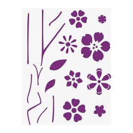 Stencil Componibile fiori