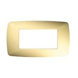 Placca 4 moduli FEB Flexì Brio avorio