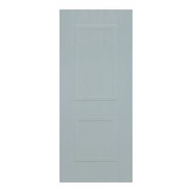 Pannello per porta blindata compensato marino bianco L 90 x H 210 cm , spessore 6 mm