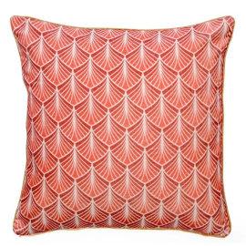 Cuscino Perrine rosa 45 x 45 cm