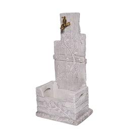 Fontana a colonna Quadrifoglio grigia