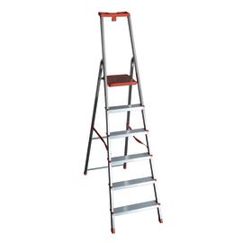Scala domestica in alluminio 6 gradini Facal Eurodomus Plus