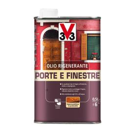 Olio protettivo V33 Porte e finestre incolore 0,5 L